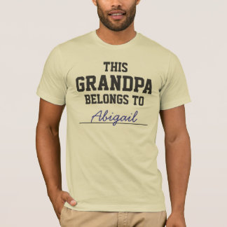 This Grandpa Belongs To ........ T-Shirt