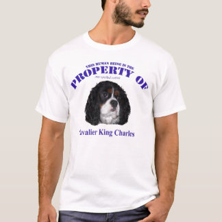 THis human property of Cav tricolor T-Shirt