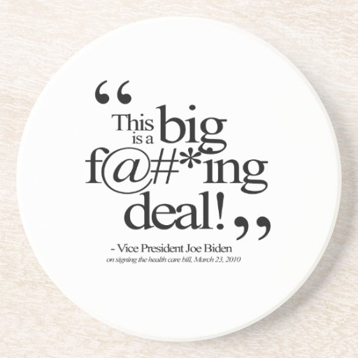 This is a Big F-ing Deal Drink Coasters