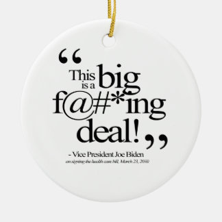 This is a Big F-ing Deal Ornament