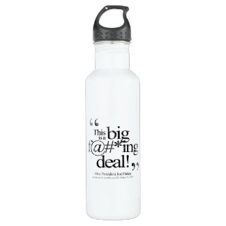 This is a Big F-ing Deal Faded.png 710 Ml Water Bottle
