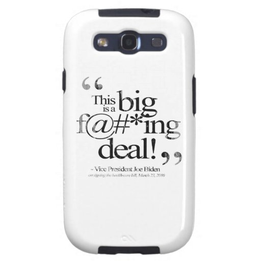 This is a Big F-ing Deal Faded.png Galaxy S3 Cases