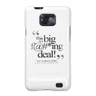 This is a Big F-ing Deal Faded.png Samsung Galaxy SII Cover