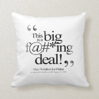 This is a Big F-ing Deal Faded.png Throw Cushion