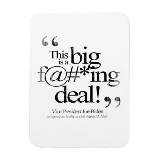 This is a Big F-ing Deal Faded.png Rectangular Photo Magnet