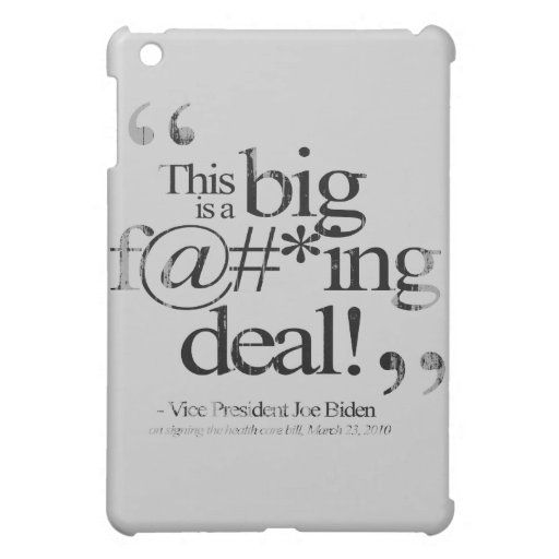 This is a Big F-ing Deal Faded.png iPad Mini Cases