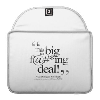 This is a Big F-ing Deal Faded.png MacBook Pro Sleeve