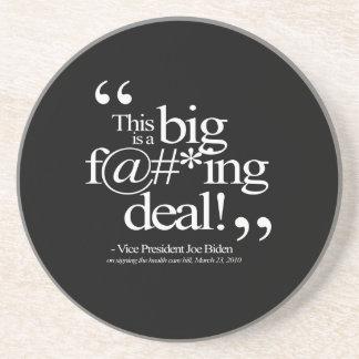 This is a Big F-ing Deal - Joe Biden Beverage Coaster