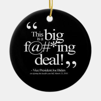 This is a Big F-ing Deal - Joe Biden Christmas Tree Ornaments