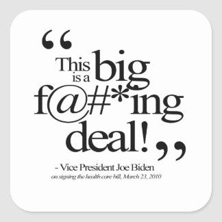 This is a Big F-ing Deal Stickers