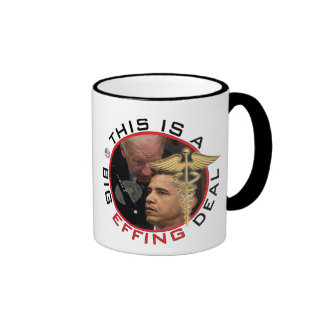 """This is abig...F@%#ing...deal!"", - Jo... Ringer Mug"