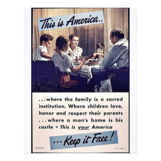 This Is America Keep It Free! Custom Flyer
