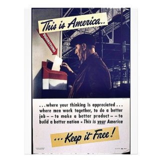 This Is America Keep It Free! Flyers