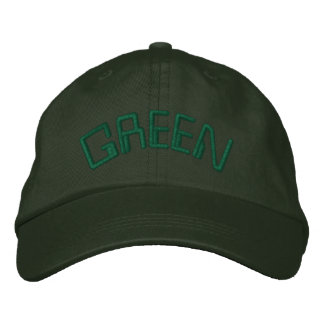 This is my GREEN hat for St. Patty - CUSTOMIZABLE! Baseball Cap