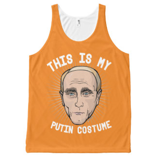 This is my Vladimir Putin Costume - Political Hall All-Over Print Singlet