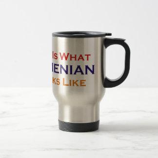 This is What Armenian Looks Like Travel Mug
