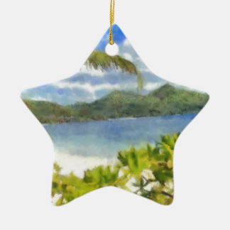 This is where I want to be Ceramic Star Decoration