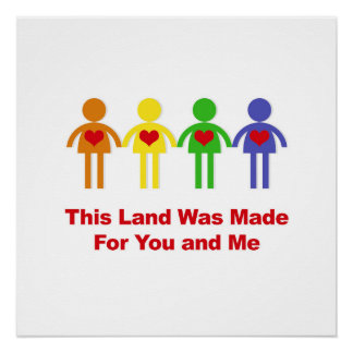 This Land Was Made for You and Me Poster