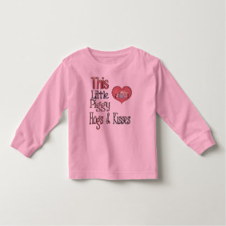 This Little Piggy Heart LS Shirt