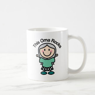 This Oma Rocks Gift Idea Coffee Mug
