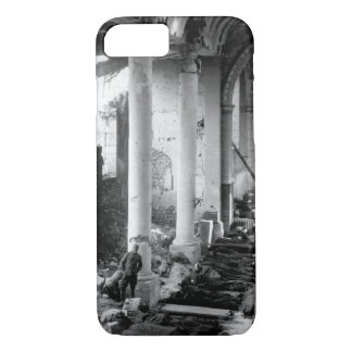 This shattered church in the ruins of_War image iPhone 7 Case