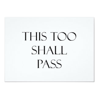 This Too Shall Pass Quotes Strength Quote Card