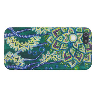 """""""This Was All Ocean, Once"""" (Floral Aquatic Scene) iPhone 5/5S Cover"""