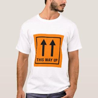 This way up Tshirt Design