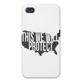 This We Will Protect Cover For iPhone 4