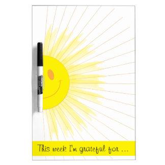 This Week I'm Grateful Gratitude Weekly Mindfulnes Dry Erase Board