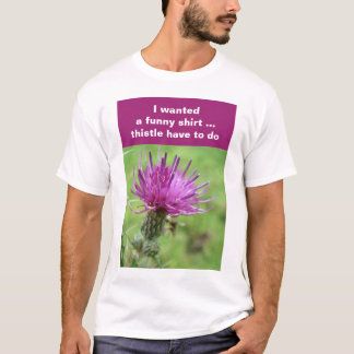 Thistle shirt