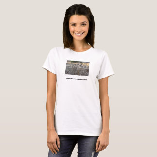 Thistles in field T-Shirt