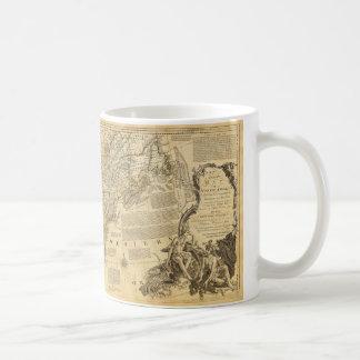 Thomas Jefferys' 1776 American Atlas Map Coffee Mug