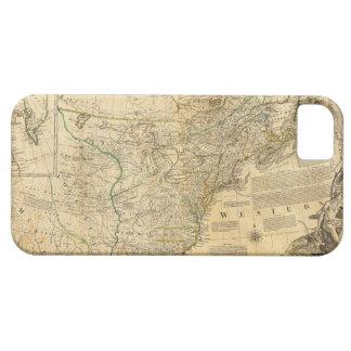 Thomas Jefferys' 1776 American Atlas Map iPhone 5 Cover