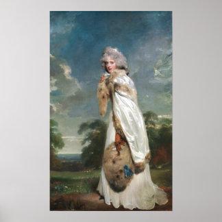 Thomas Lawrence Elizabeth Farren Poster