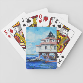 Thomas Point Lighthouse playing cards