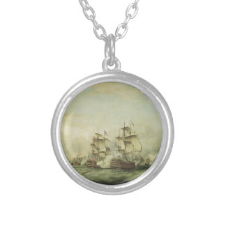 Thomas Whitcombe - The Battle of the Saints Personalized Necklace
