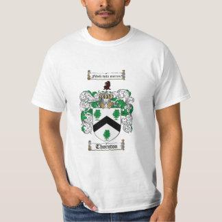Thornton Family Crest - Thornton Coat of Arms T-Shirt