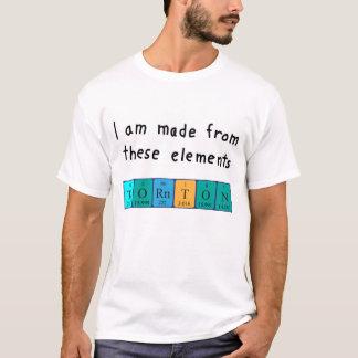 Thornton periodic table name shirt