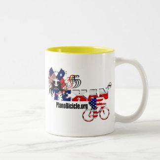 Thoroughbred Texan Cycling Cup Two-Tone Mug