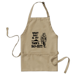 Thor's Day-eee!!! Standard Apron