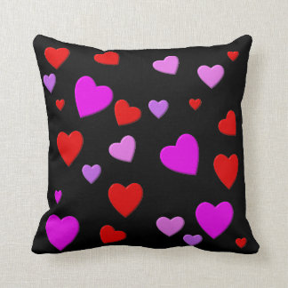 thousand hearts for you throw cushion
