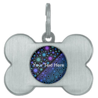 Thousands Flower Pet Name Tag