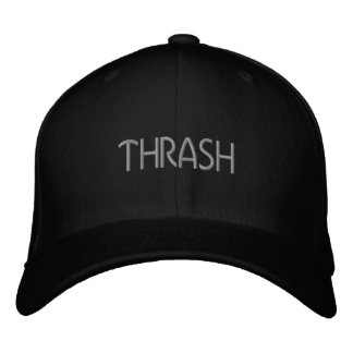 Thrash Embroidered Cap