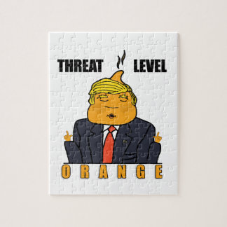 Threat Level Orange Jigsaw Puzzle