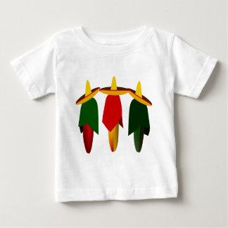Three Amigo Hot Peppers Infant T-shirt