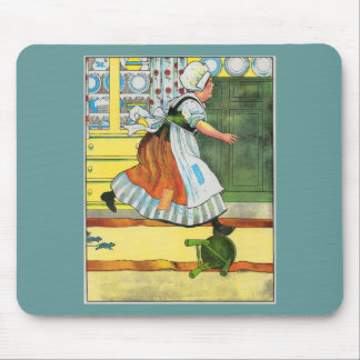 Three blind mice! See how they run! Mouse Pad