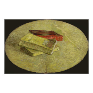 Three Books by Vincent Van Gogh Photo Print