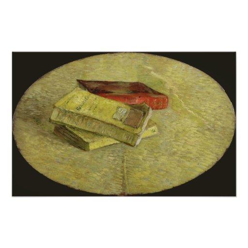 Three Books by Vincent Van Gogh Photograph