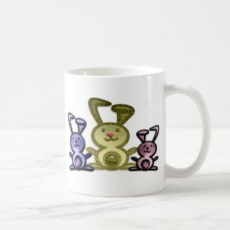Three Cute Bunnies Mugs